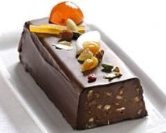 Bûche Lingot au chocolat IMPERIAL