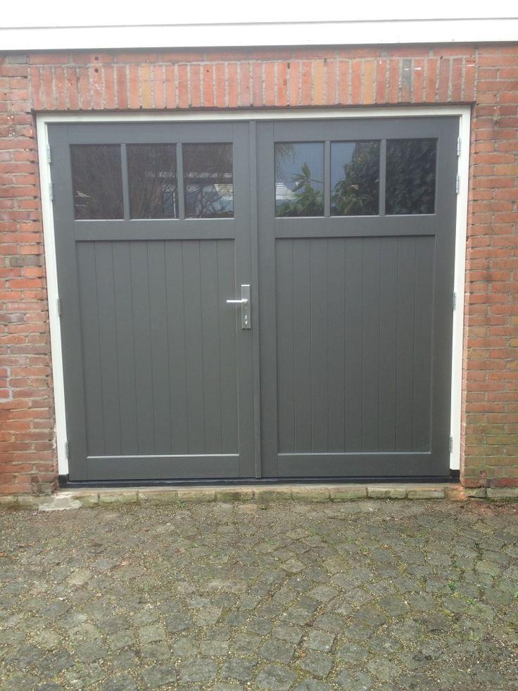 Afbeeldingsresultaten voor houten garagedeuren