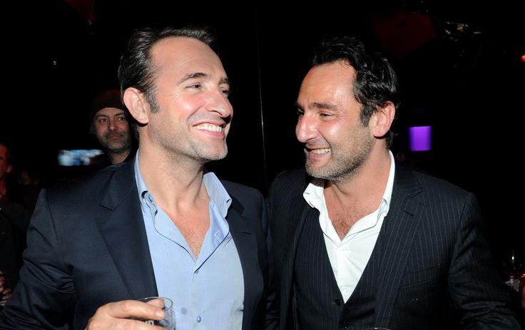"""Soirée du film """"Les infidéles"""" avec Jean Dujardin et Gilles Lellouche en 2011"""