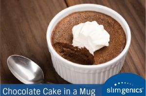 Need a quick fix for that sweet tooth? How about a personal-sized #chocolate #cake! Check out this easy recipe for baking chocolate cake in a mug! #delicious