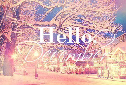 Hello, December :)