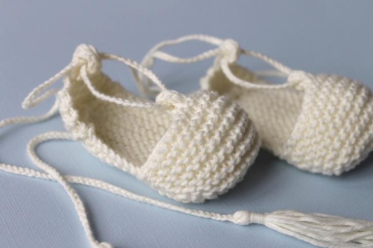 Image of Chaussons bébé espadrilles en coton bio écru