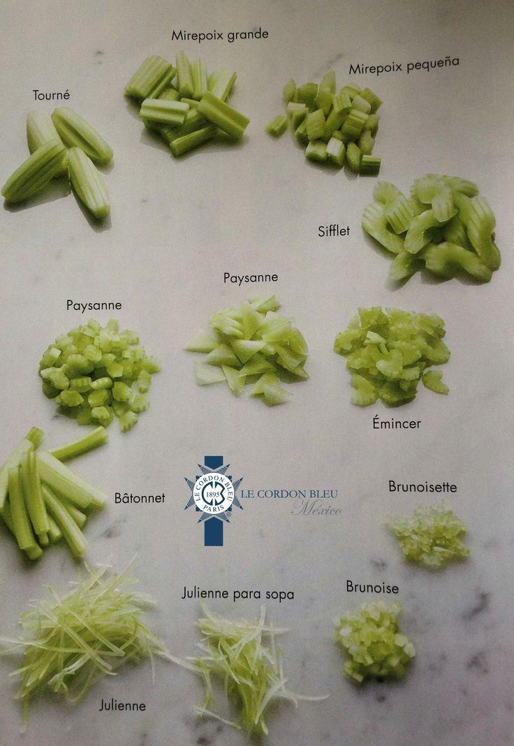 tecnicas de cortes de verduras - Buscar con Google