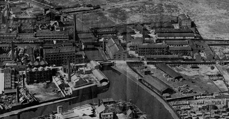 Clarnico 1921 from above. left is hackney wick