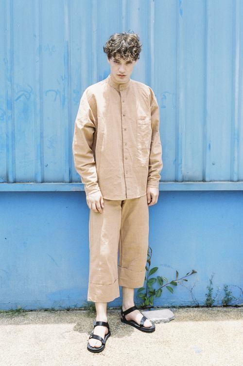 Seeker x Retriever Sustainable Handmade Fashion Pants Origami Trousers: Dusk