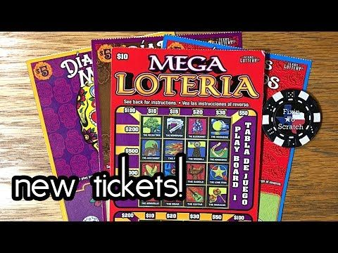 "NEW TICKET! $10 ""RED"" Mega Loteria Texas Lottery Scratch Off Ticket - http://LIFEWAYSVILLAGE.COM/lottery-lotto/new-ticket-10-red-mega-loteria-texas-lottery-scratch-off-ticket/"
