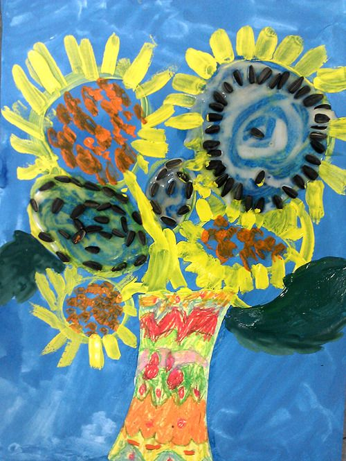 Vincent van Gogh  Kids ART Classroom ART project DIY with kids in KAVARDAK blog