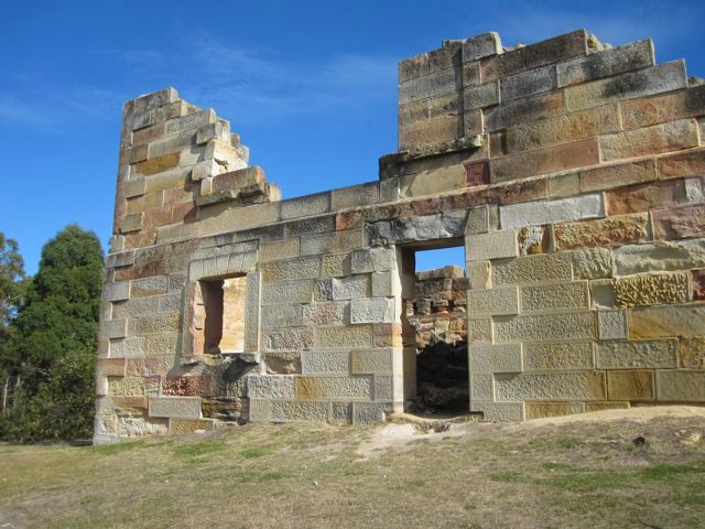 Coal Mines Historic Site at Saltwater River, Tasman Peninsula. Visit Tasmania.