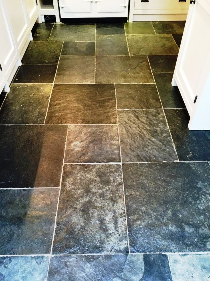 These Photographs Below Are Of A Slate Tiled Kitchen Floor Taken At A  Customeru0027s House In