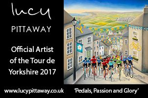 Lucy Pittaway - The Official Tour de Yorkshire Artist