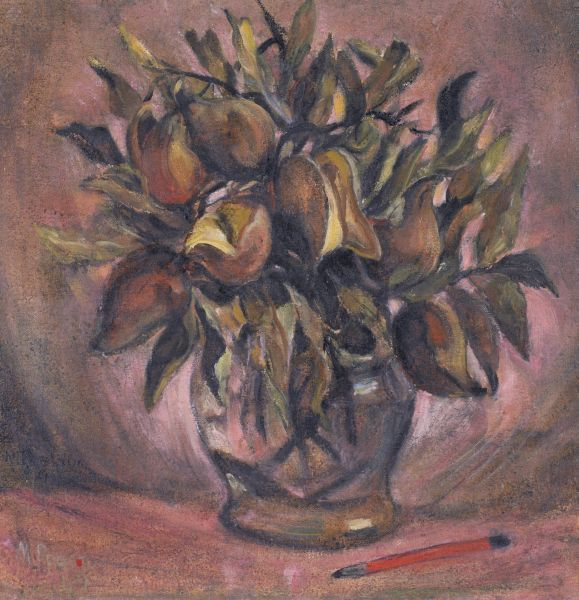 Still Life with Native Pears