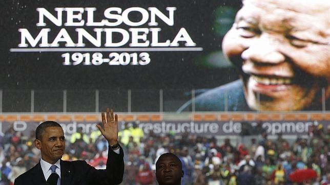 «Mandela entendió los vínculos que unen el espíritu humano», y otras nueve frases de Obama en el homenaje a Madiba