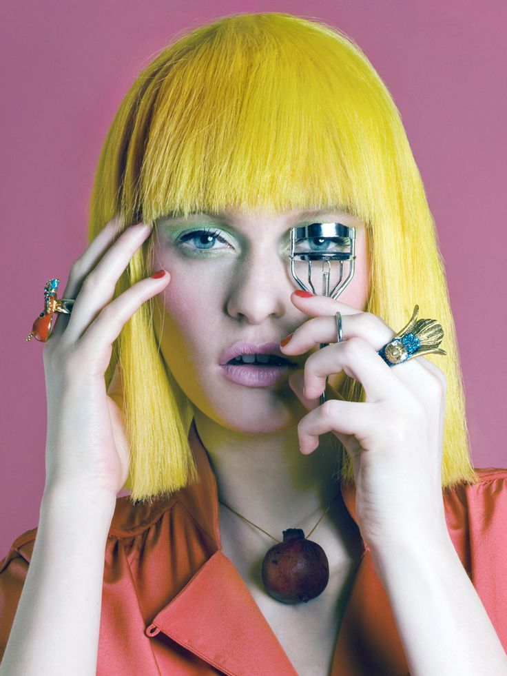 At the Hair Salon with Fashion-Beauty Photographer Meagan Cignoli