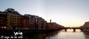 Atardecer Florencia Italia