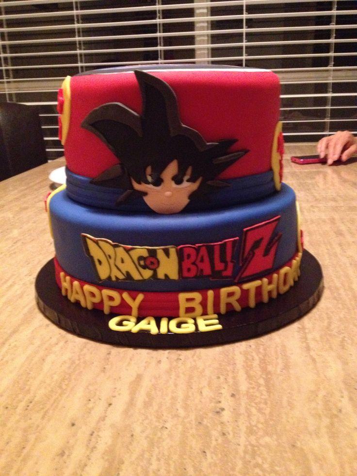 Dragon ballZ cake