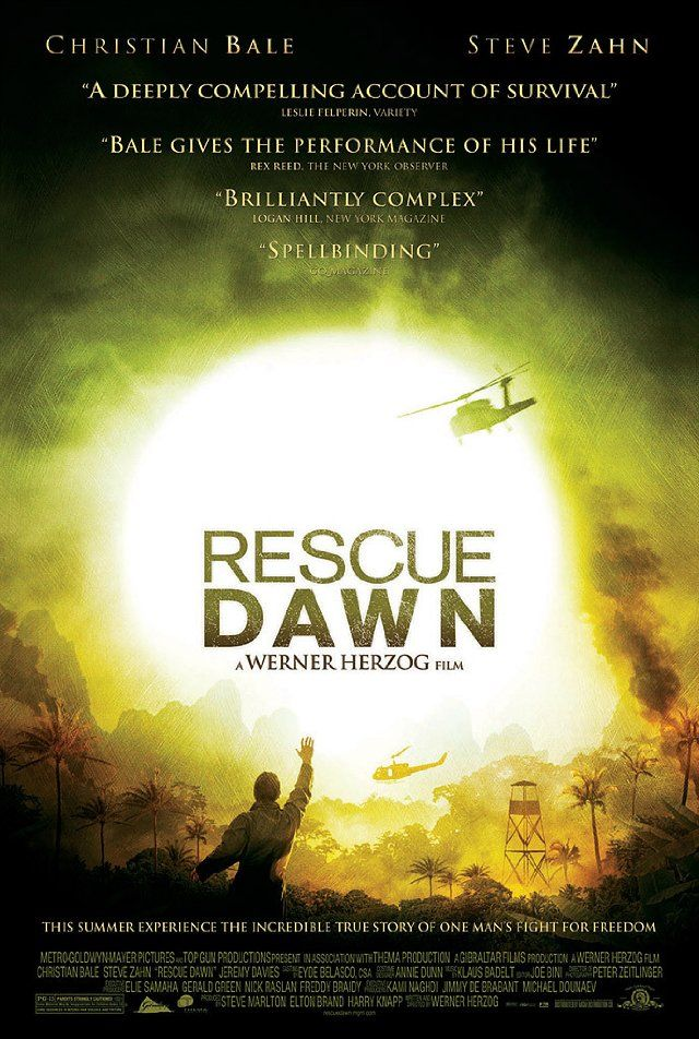 Safak Harekati - Rescue Dawn - 2006 - BRRip Film Afis Movie Poster
