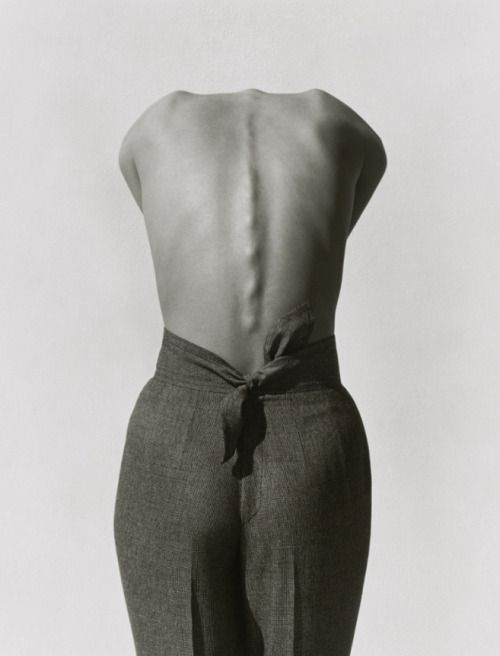 "artchiculture:  "" Pants (Backview), 1988  Photography by Herb Ritts  """