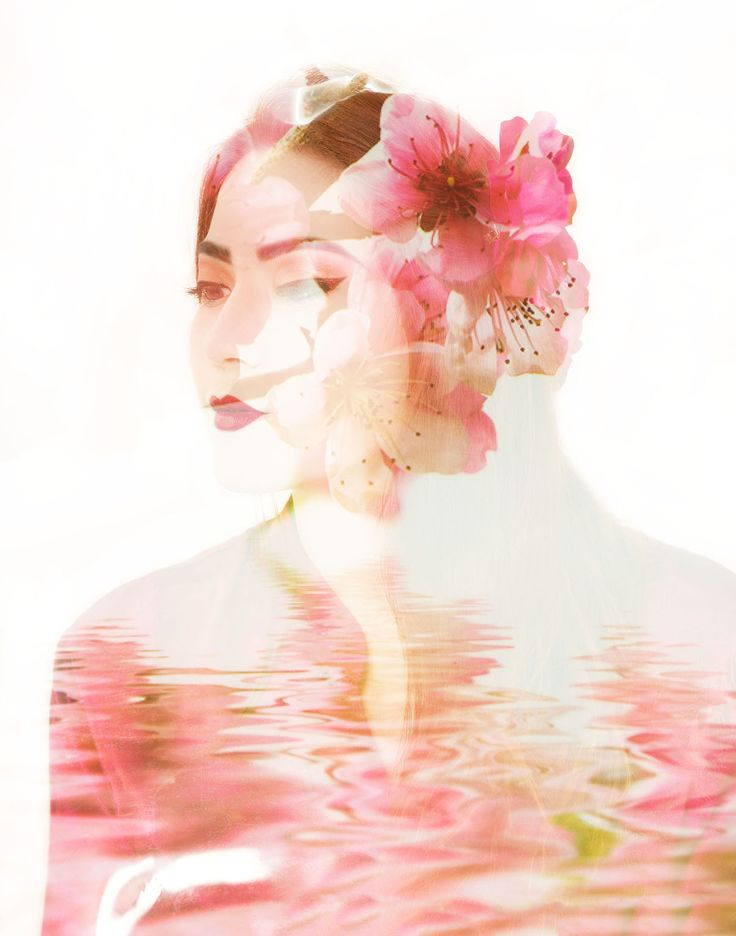 Geisha Girls Portfolio project! See more here at Vanessa Bryson Photography! https://www.facebook.com/vanessabrysonphotography  #geisha #geishagirls #doubleexposure #pretty #pink