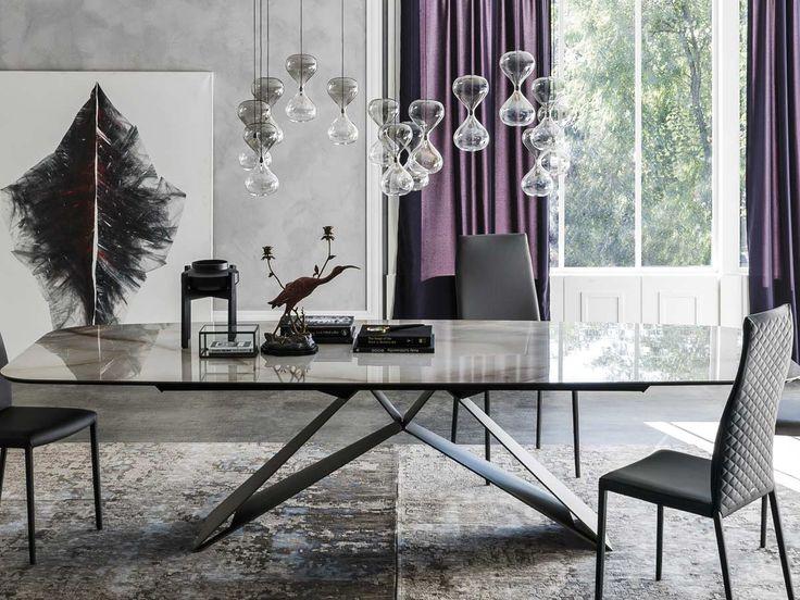 Premier Keramik Table Cattelan Italia