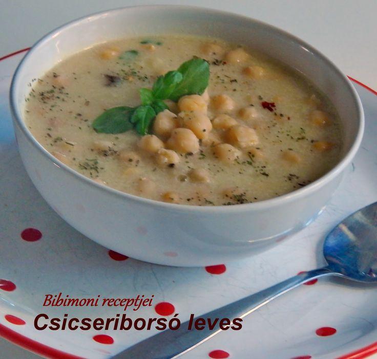 Bibimoni Receptjei: Csicseriborsó leves