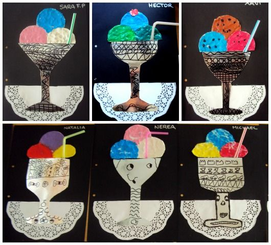 zmrzlinový pohár
