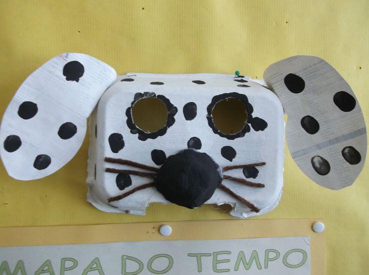 carnaval: hondenmasker