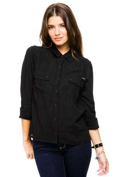 Las 25+ mejores ideas sobre Camisa negra en Pinterest | Blusa negra Black blouse outfit y ...