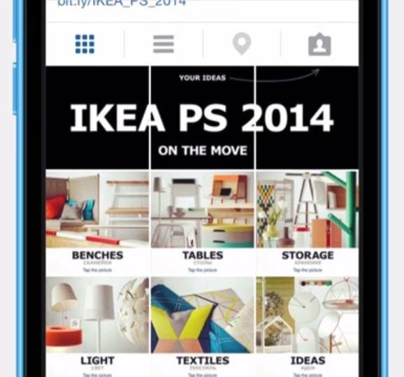 インスタグラムの新たな使い方!タグ付け機能を活用した、IKEAの斬新なオンラインカタログ     AdGang