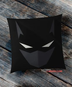 Black Batman Mask pillow case, Custom Pillow case, Square Rectangle pillows case