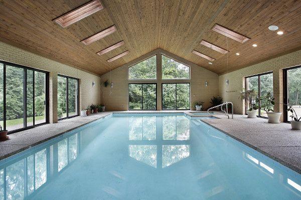 Residential Indoor Pools The Inside Story Pool Pricer Indoor Swimming Pool Design Indoor Pool House Luxury Swimming Pools