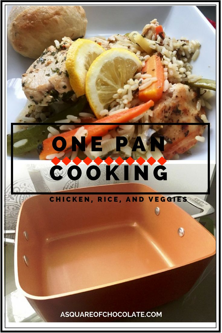 Do you have the Red Copper pan? I just got one as a Christmas gift and I love meals you can make in one pan!