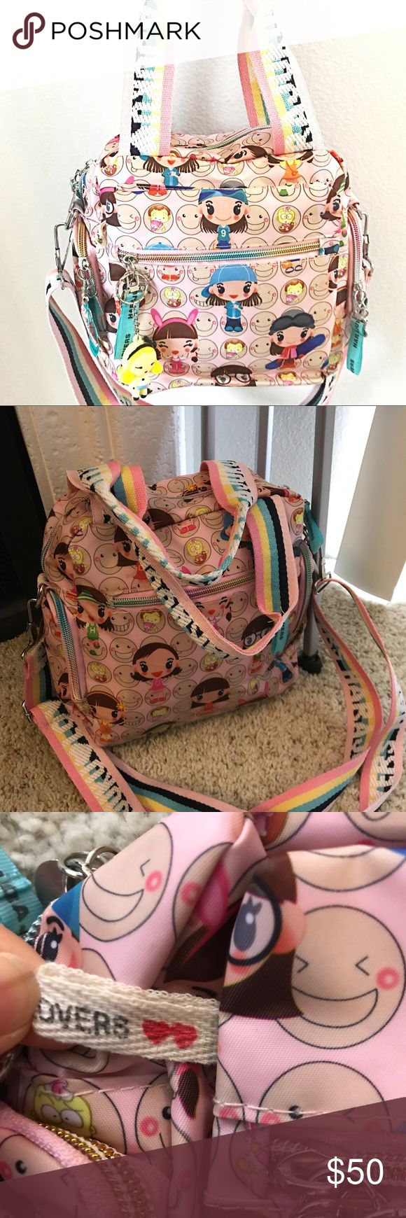 NWOT Harajuku Unicorn Bag Got this in Japan. So gorgeous. Final price! Harajuku Lovers Bags Satchels
