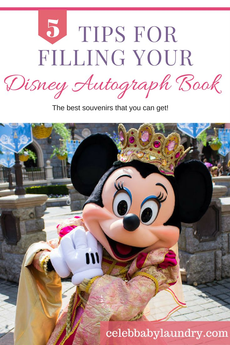 Is you family planning a trip to disney? Does your little girl or boy want as many Disney autographs as they can get? Check out our 5 tips to filling up your Disney autograph book here!