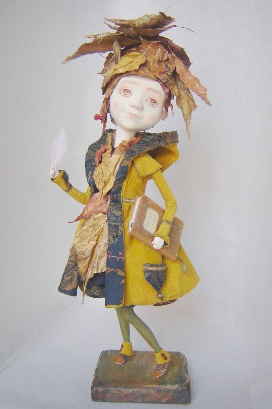 Art Doll About the Autumn OOAK by TatianaGurina on Etsy, $1000.00