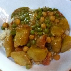 Spiced Curry Potatoes