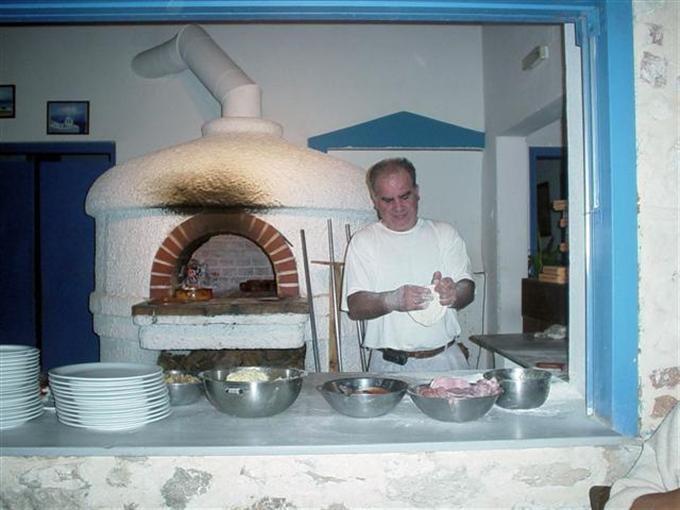 originele hout oven