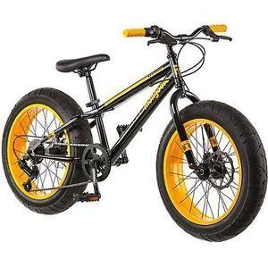 NEW-20-034-Mongoose-Massif-Boys-7-Speed-Fat-Tire-Mountain-Bike-Bicycle-Yellow-Black