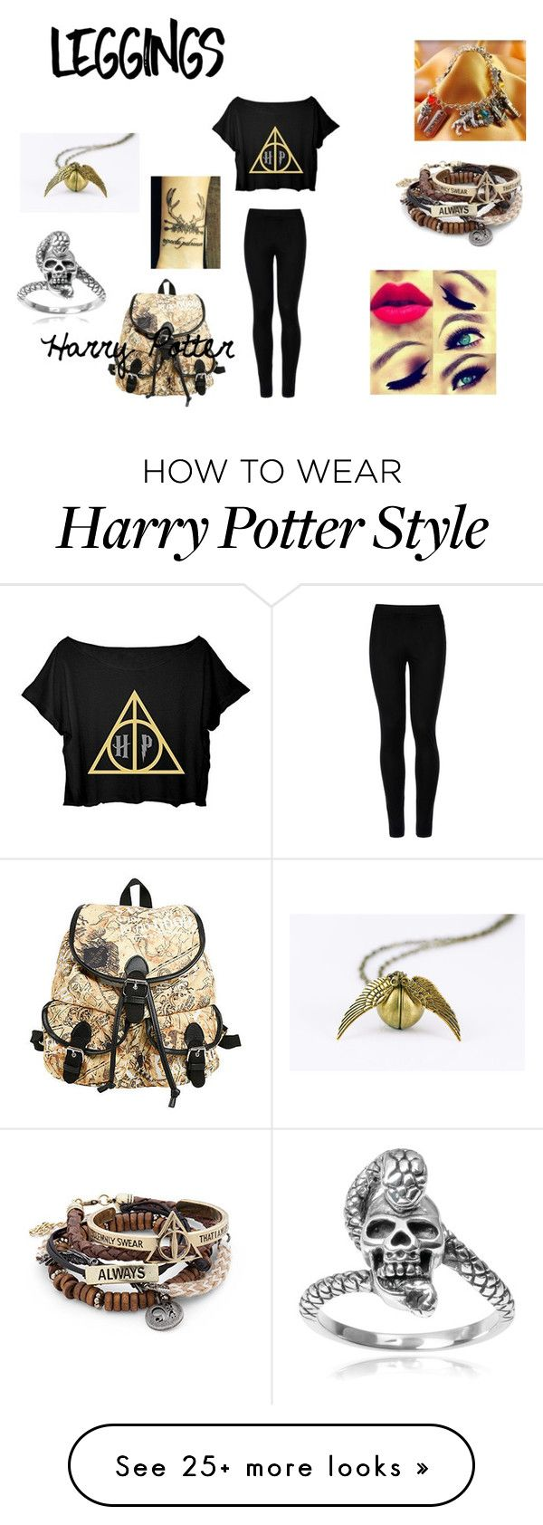 """""""Leggings"""" by unknownuser-315 on Polyvore featuring Tressa, Wolford, Leggings and WardrobeStaples"""