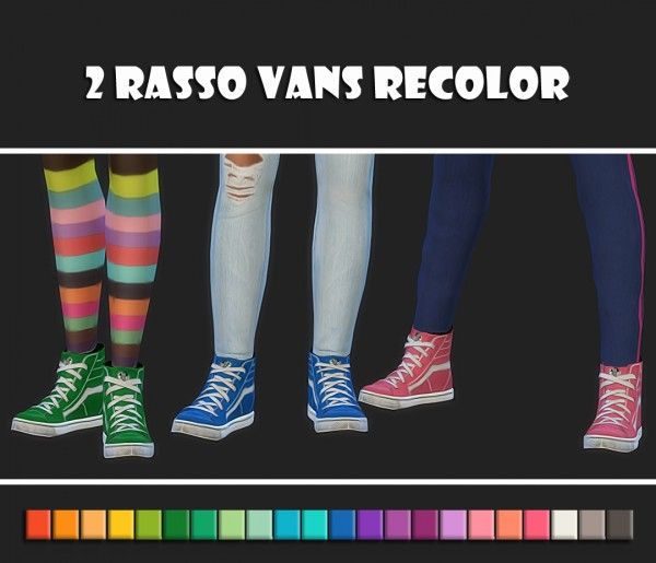 Simsworkshop: 2 Rasso Vans Recolors by maimouth • Sims 4 Downloads
