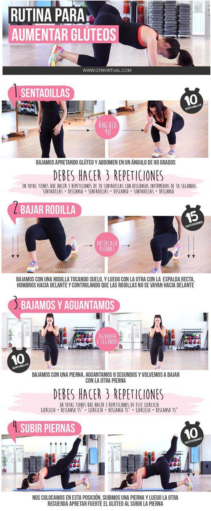 Incrementa el tamaño de tus glúteos con este ejercicio | i24mujer