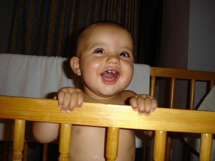Mi hijo Alonso <3 en 2005