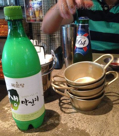 Makgeolli from KoFoo Korean Food, Sydney