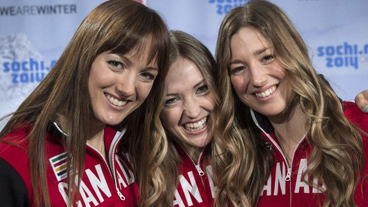 Cheering on the Dufour-Lapointe sisters!  Sochi will be the first time three siblings have competed for Canada in an individual Olympic Winter event.  Good Luck Justine, Chloe and Maxime in the Women's Ski Moguls! #Olympics  #SQ1