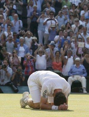 tenis wimbledon anyd murray (Foto: Reuters)
