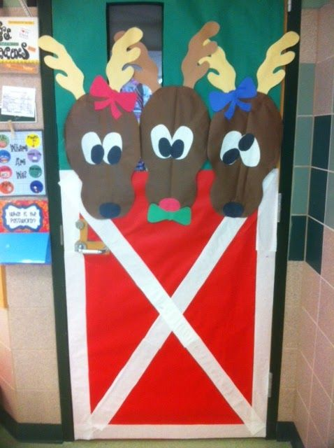 Creative Christmas Classroom Door Decorations ~ Teacher door decoration things for my wall pinterest