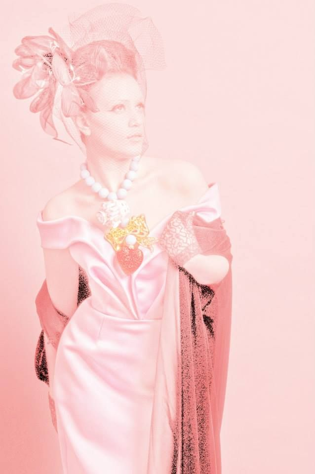 """Spring in Paris"" collection Photos - concept - styling: Takis Tsadilis Production – Pericles Kondylatos Jewellery by Pericles Kondylatos Dress by Vassilis Zoulias make up : Christina Ermidis for Make up Lab Hair styling: Renos Politis Model: Noelle Kondylatou"