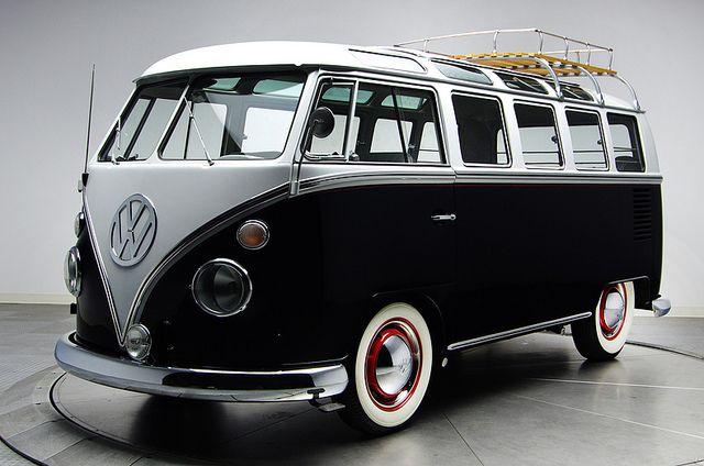 1963 VW 21 Window Deluxe Bus One of the best Volkswagen I've seen yet. Recipe for adventure, ingredient number one.