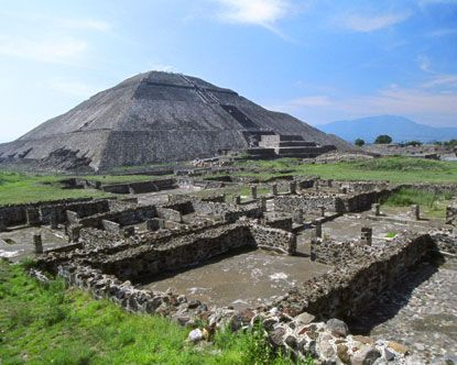 Teotihuacán - just outside Mexico City the Pyramid of the Sun is the world's 3rd largest. They let you climb to the top, which is really amazing! #travel