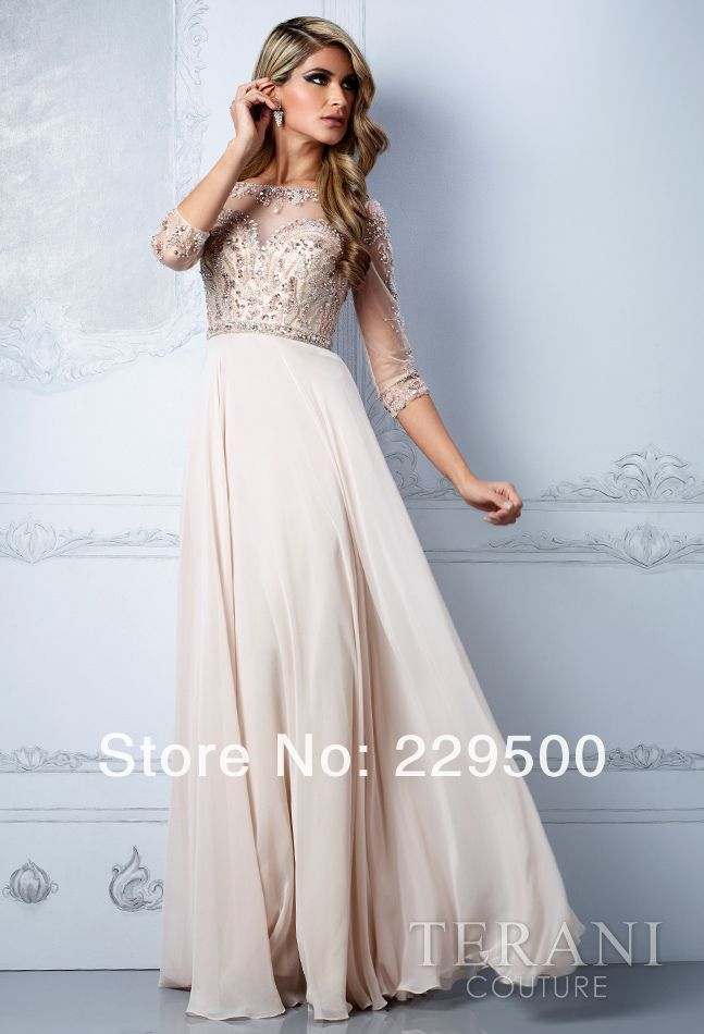Modest evening dresses