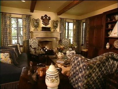 Not sure exactly what Old World style is? HGTV.com explains the style's rich color palette and masculine architectural design.